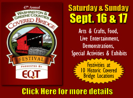 Covered Bridge Festival web